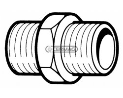 Steel Fittings For Liters Counter