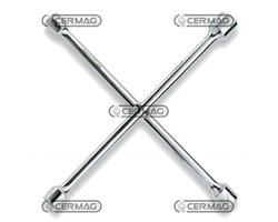 Four-Way Wrenches For Wheel Nuts