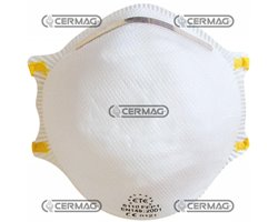 Facial Filter Masks For Non Toxic Air-Borne Solids And Liquids Protection Class Ffp1