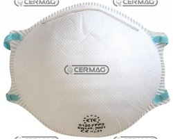 Facial Filter Masks For Low Or Medium Toxicity Dusts, Mists And Fumes Protection Class Ffp2