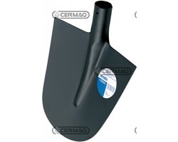 Temp.Rounded Spade W.H.