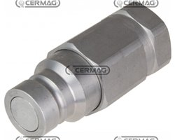"""Quick Male Coupling With Flat Face Type Series Ffh Coupling 1/2"""" Gas"""