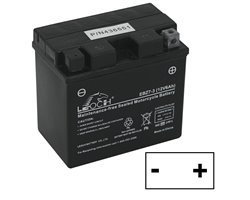 Battery 330366-6 Ah, Polo A Positive Right, L. 113 Mm, Mm P. 70, H. 107 Mm, Mm H.Totale 107. Battery AGM Husqvarna Rider 77